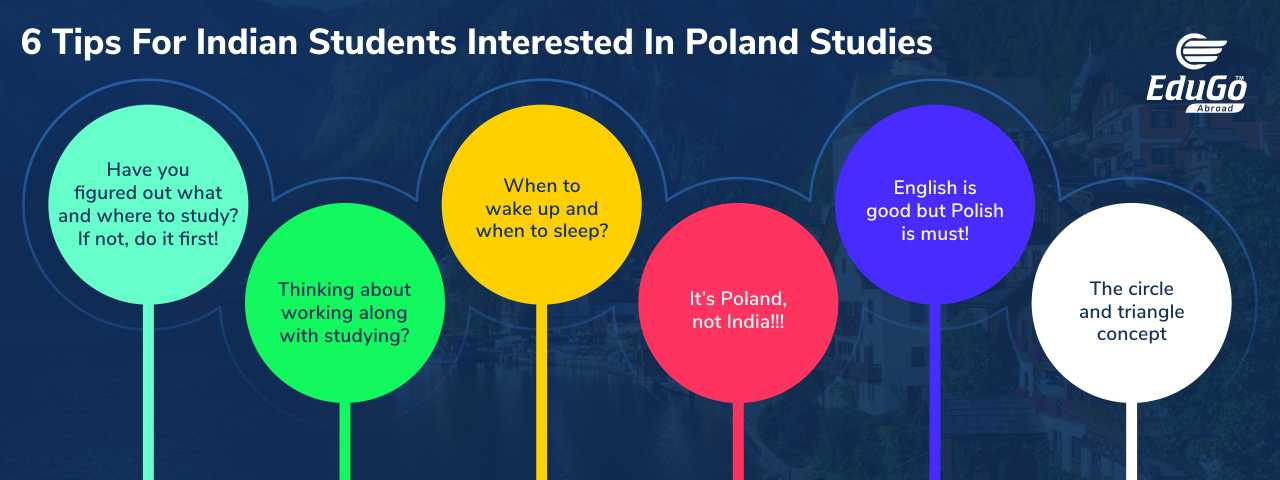 6 Tips For Indian Students Interested In Poland Studies