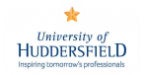 University Of Huddersfiels