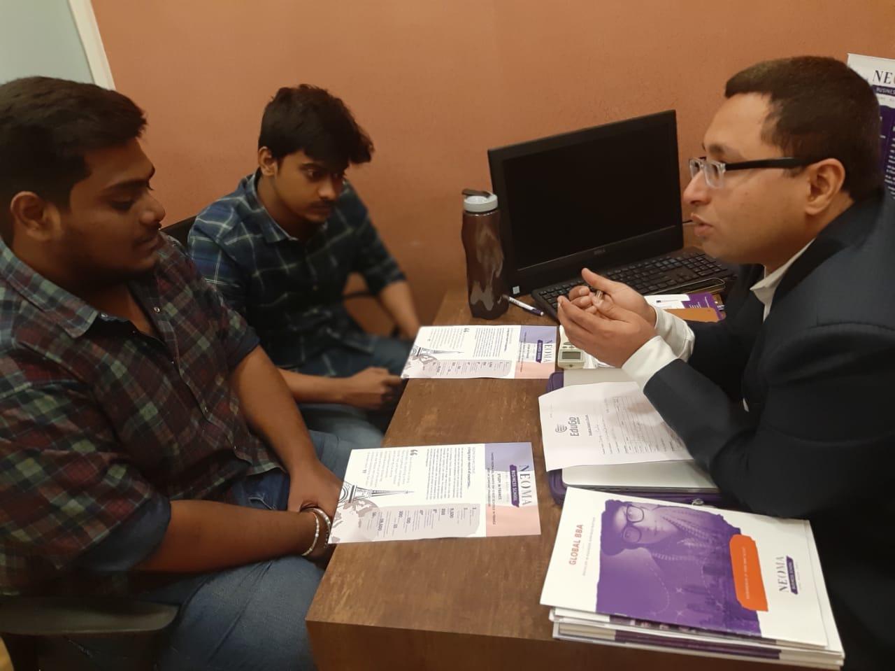 NEOMA Business School Spot Admission Mumbai 01