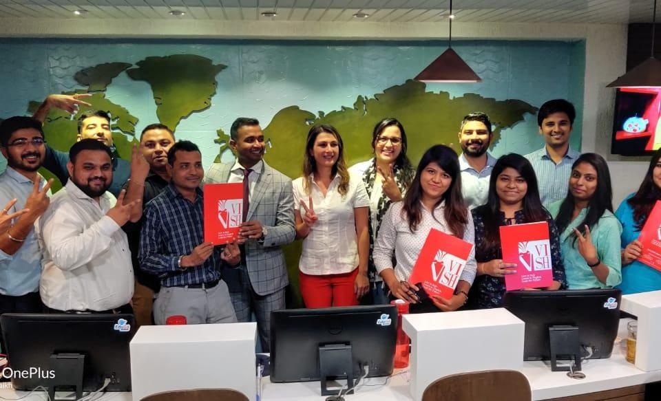 VISH Italy Office Visit - Edugo Abroad Ahmedabad 01