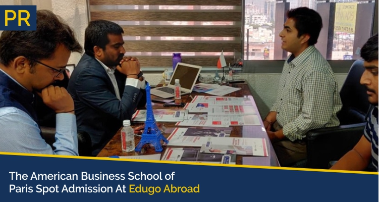 The American Business School of Paris Spot Admission At Edugo Abroad