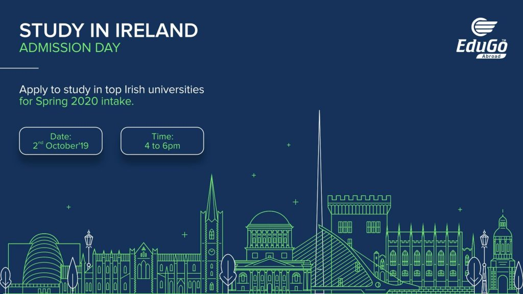 Study In Ireland - Admission Day