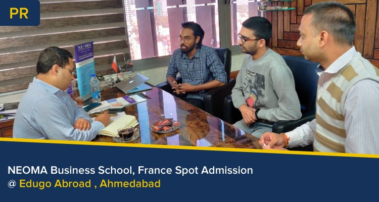 NEOMA Business School France Spot Admission at Edugo Abroad Ahmedabad