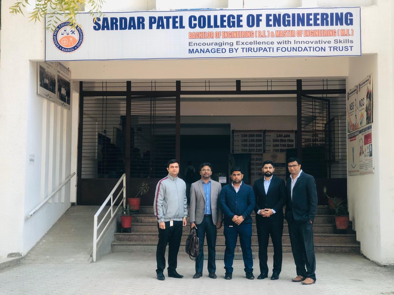 Choose France Tour 2020 Sardar Institute of Technology Anand 4