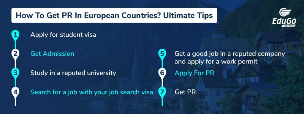 7 steps to get PR In European Countries The Ultimate Guide