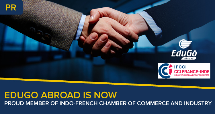 Edugo Abroad Is Now Proud Member Of Indo French Chamber of Commerce and Industry