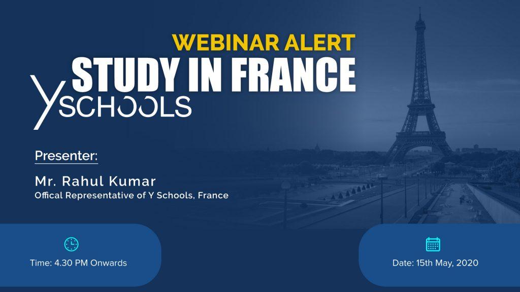 Study In France Y Schools Webinar
