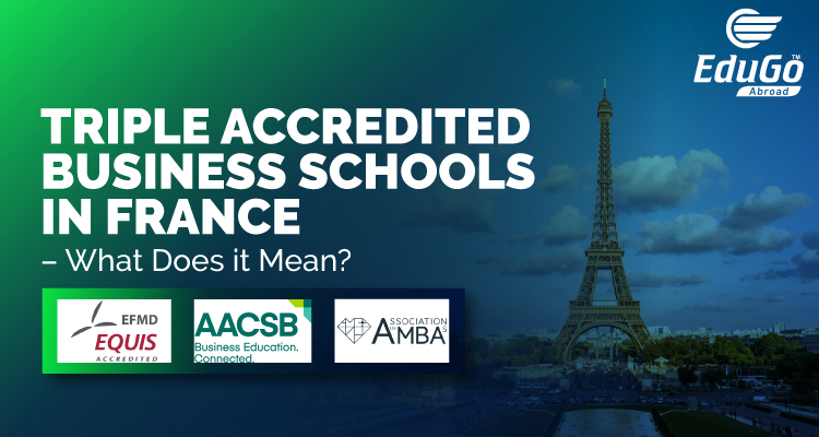 Triple accredited Business schools in france Top Universities in France