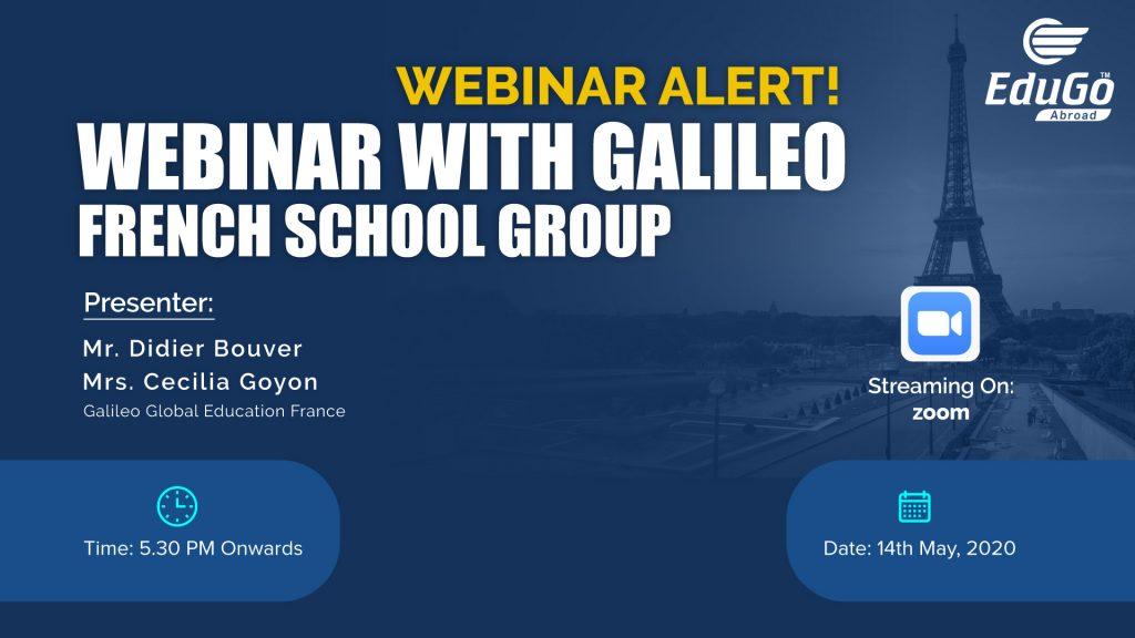 Webinar With Galileo French School Group