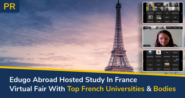 Study In France Virtual Fair With Top French Universities Bodies