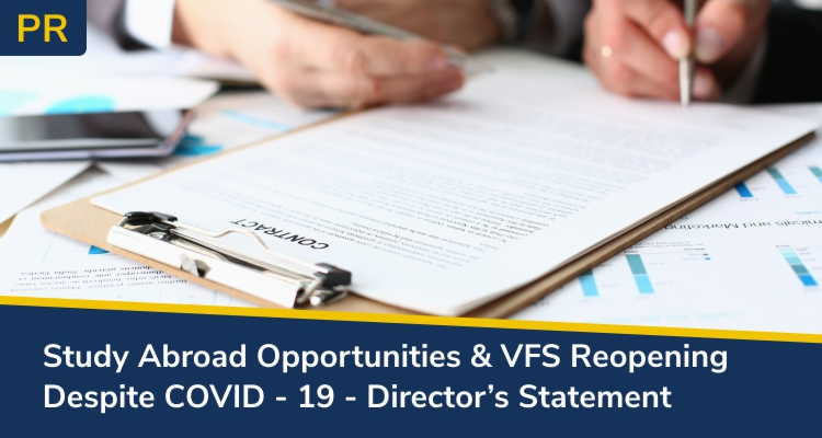 VFS Reopening Despite COVID 19 Director's Statement