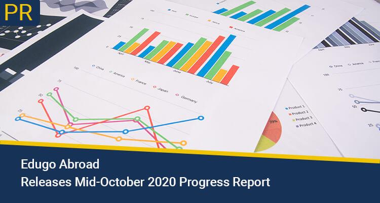 Edugo Abroad Releases Mid October 2020 Progress Report