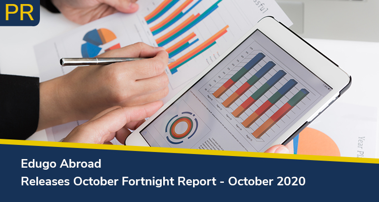Edugo Abroad Releases October Fortnight Report October 2020