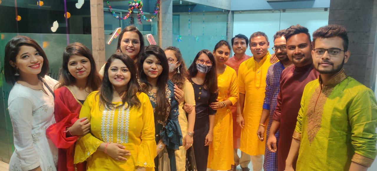 Team Edugo Abroad Diwali Celebration 2020 11