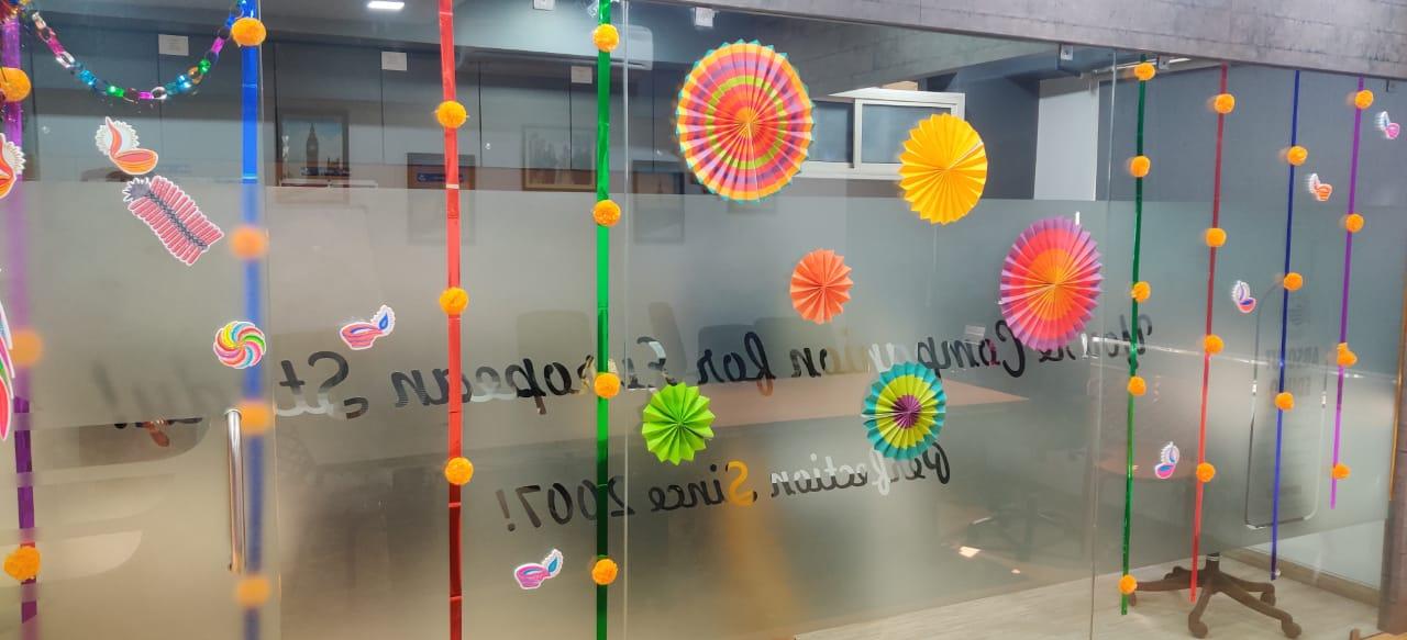 Team Edugo Abroad Diwali Celebration 2020 3