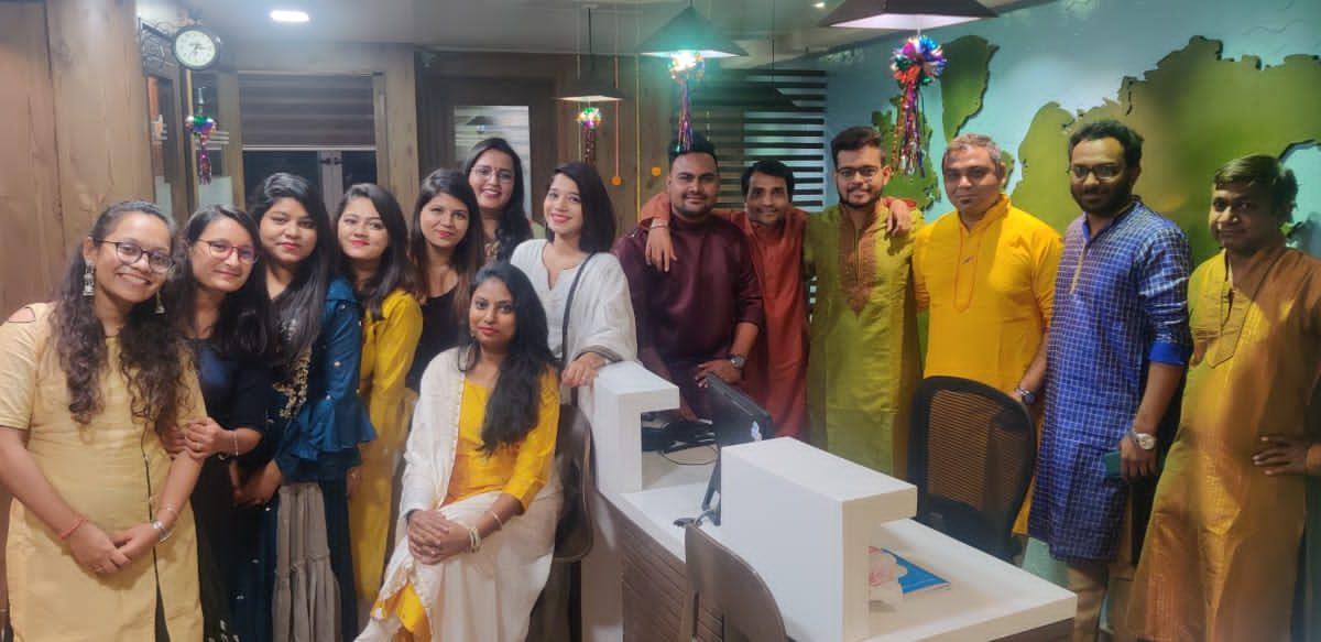 Team Edugo Abroad Diwali Celebration 2020 6