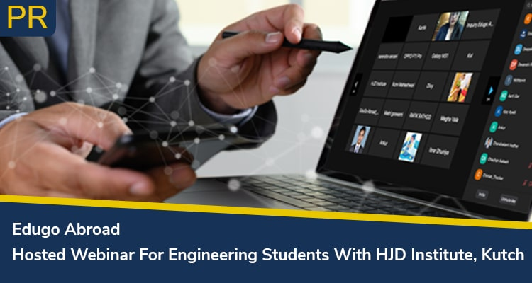 Edugo Abroad Hosted Webinar For Engineering Students With HJD Institute Kutch