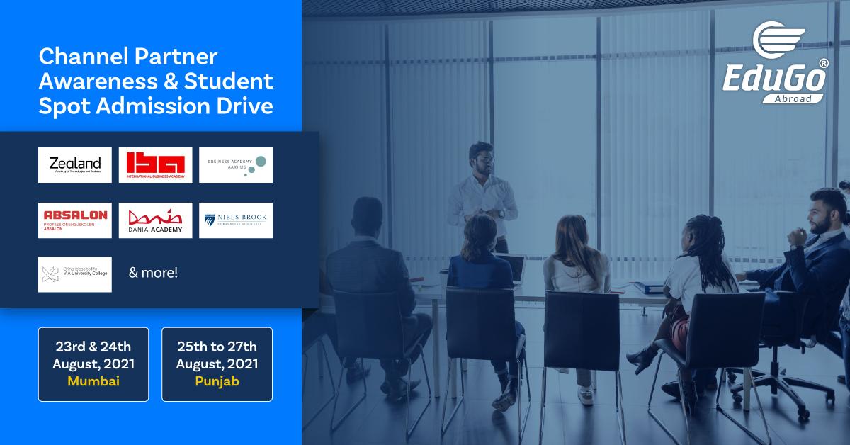Channel Partner Awareness Student Spot Admission Drive 1